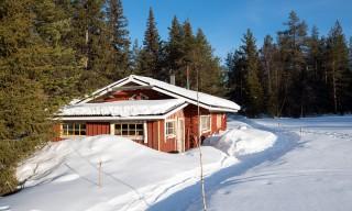 Die Holzfällerhütte