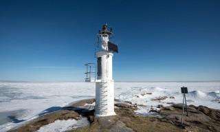 Der Leuchtturm auf Kågsnäshällan