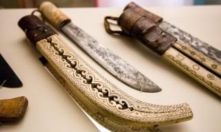 Ájtte – geschnitzte Messerscheide