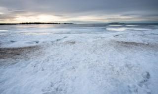 Blick auf einige Ostseeinseln