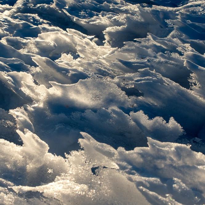 schneeschelzstrukturen