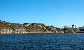 Die Halbinsel Nyholmen
