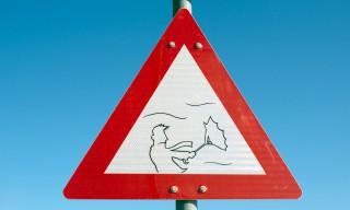 Warnung vor Wind