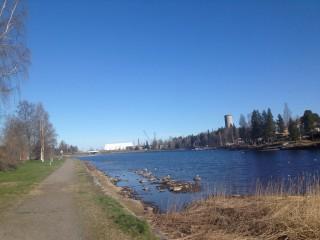 wieder in Skelleftehamn