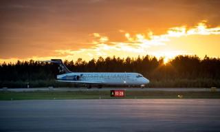 Ankunft Flug SK1018