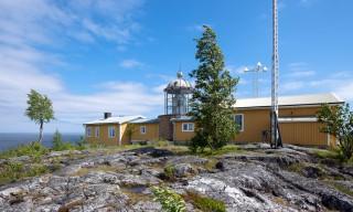 Der Leuchtturm von Bjuröklubb