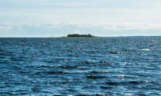 Blick auf die Insel Sör-Olsgrundet