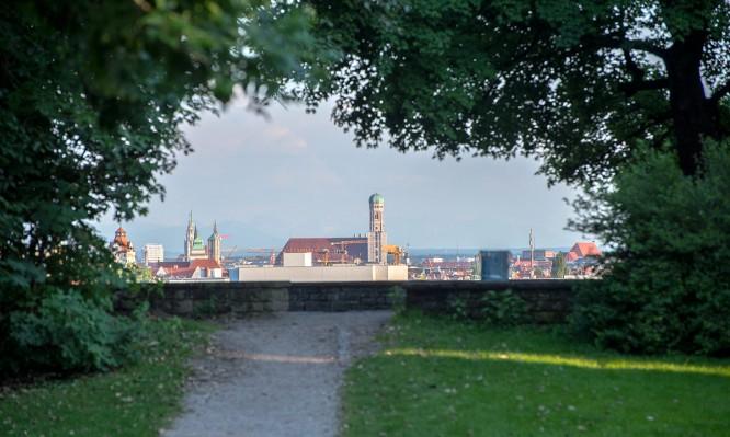 Durchblick auf München