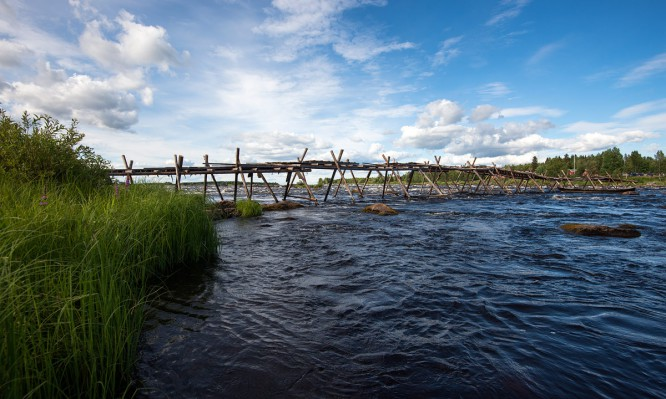 Ein alter Steg –nur für Fischer (und Fotografen?)
