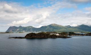 Auf der Insel Senja