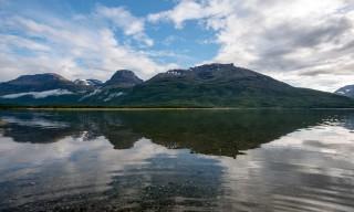 Ziel für heute erreicht: Das norwegische Skibotn