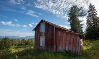 Das alte Haus auf Langbakkan