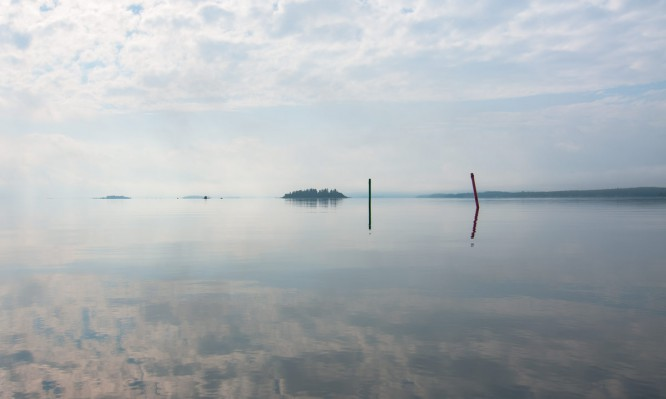 Morgenstimmung auf dem Sörfjärden