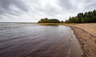 Der längste Binnenstrand Västerbottens –Långnäset