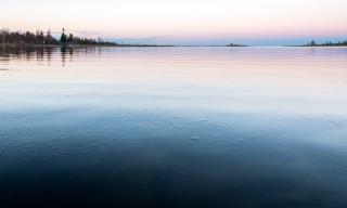 Eisnadeln auf der Ostsee