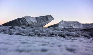 Aufgebrochenes Eis