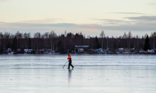 Der erste Eisfischer