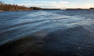 Die Ufer sind heute eisfrei