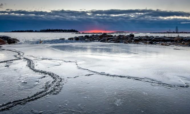Morgendlicher Blick auf die Ostsee
