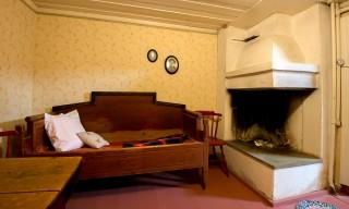 Ein altes Schlafzimmer