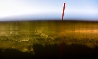 Der erste Unterwassertest