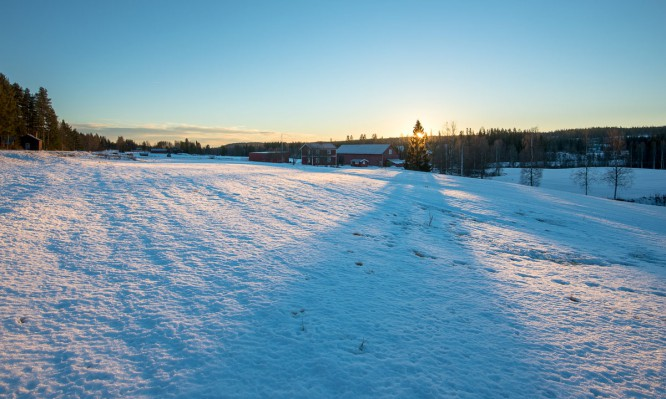 Schneefläche bei Kusmark