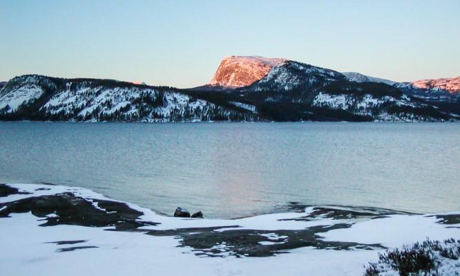 Altes Bild von der Telemark