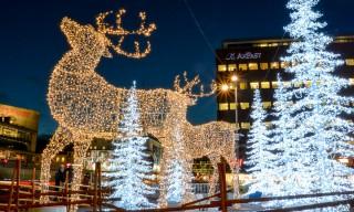 Weihnachtsdekoration am Sergels Torg