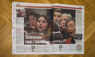 Zeitungsartikel in der Norran