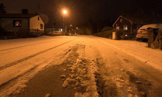 Ein kleines bisschen Schnee –Vorbote für mehr
