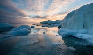 Eiskante vor der Halbinsel Näsgrundet