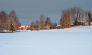Winterliches Norrlångträsk