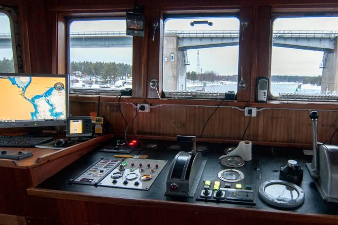 "Auf der Brücke des ""Arctic Explorer"""