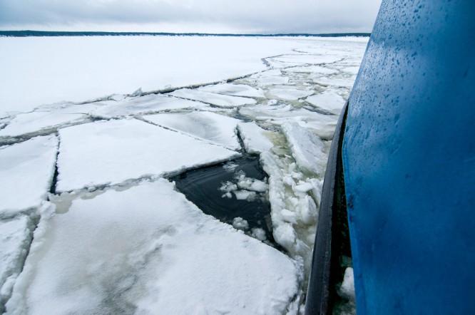 Das Eis bricht