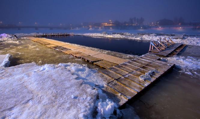 Das Winterschwimmbad –morgen geht's los