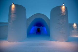 Das Eisschloss in Kemi