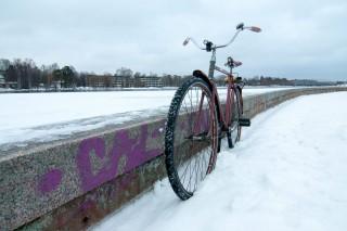 Einfach ein Fahrrad