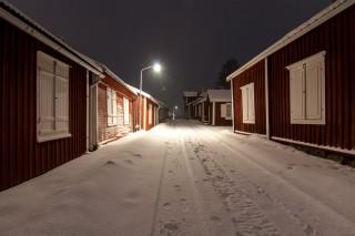 Eine Straße in der Gammelstad