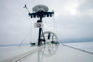 Der Antrieb: ein großer Propeller