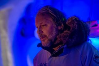Tim Linhart, der Schöpfer des Eisorchesters