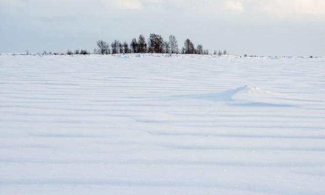 Wellenmuster auf der Ostsee