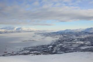 Blick vom Skilift