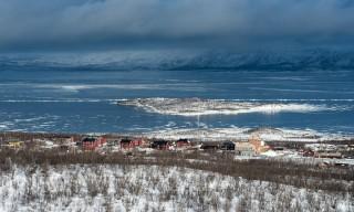 Blick auf Abisko Östra