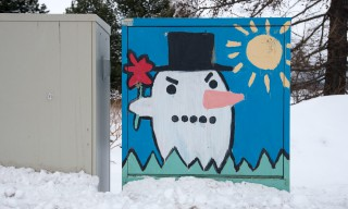 """Angry snowman"""