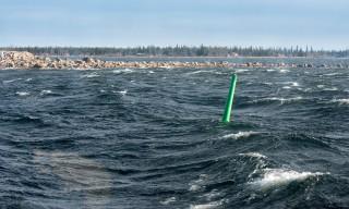 Auf der Bucht Kallholmsfjärden