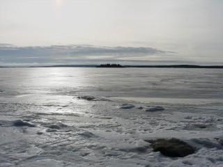 Wasser oder Eis – manchmal kaum zu erkennen