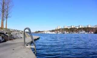 Badeplatz am Ulvsundasjön