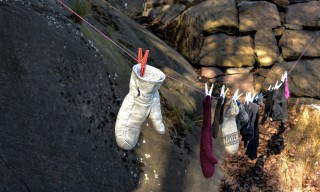 Fundplatz für Handschuhe
