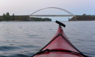Die Brücke in Sicht: Endspurt