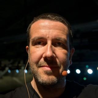Selbstportrait mit Headset